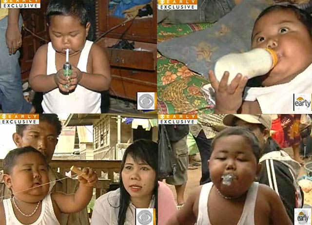 CBS Dispatched News Crew To Find Indonesian Smoking Baby