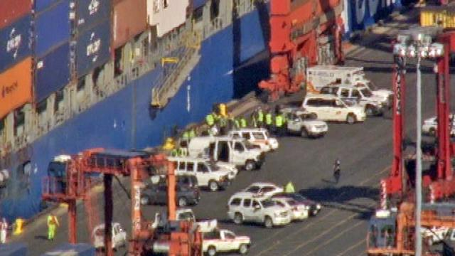 Coast Guard: Stowaways Might Be In Container Ship At NJ Port ...