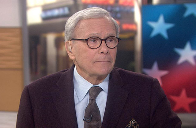 Third woman accuses Tom Brokaw of sexual harassment