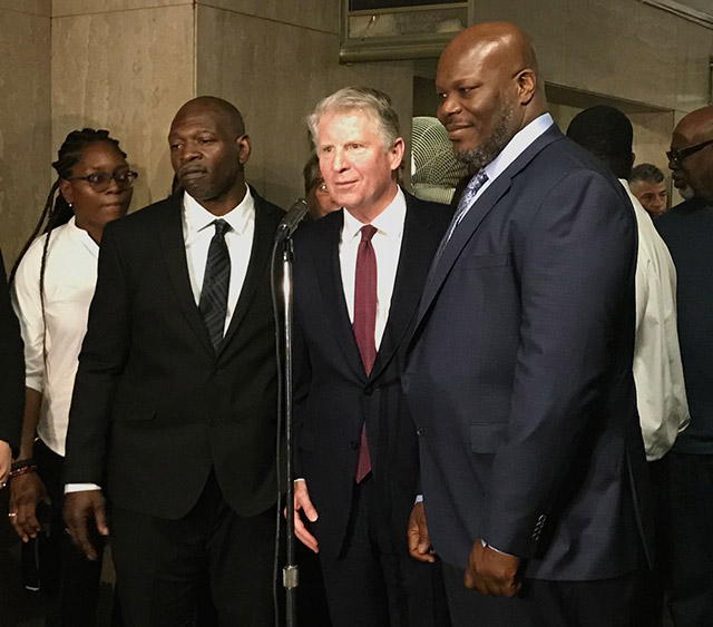 Pair Wrongly Convicted Of Raping Woman In Central Park To Be Freed