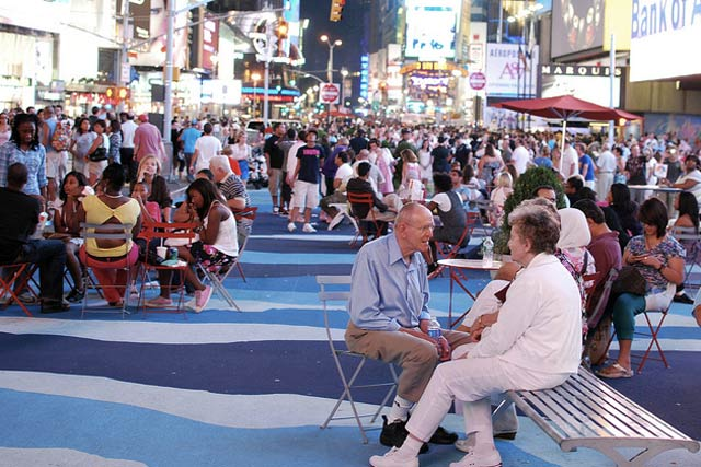 A Breath Of Fresh Air In Times Square