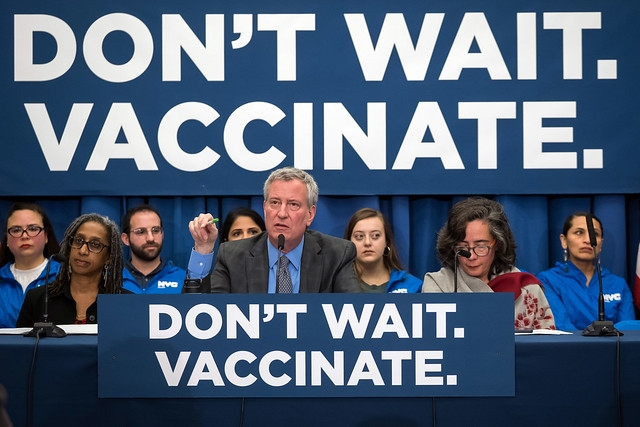 Lawyer: Challenge to NYC's vaccination order in the works