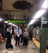 Are You Kidding Me?: Partial Ceiling Collapse Rains Debris On Busy Barclays Subway Platform
