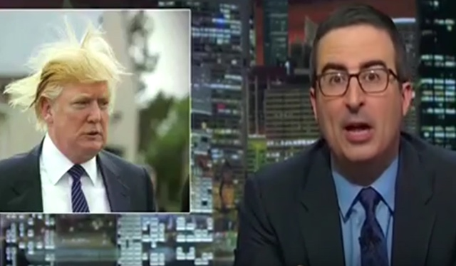 John Oliver confession: 'I'm an idiot' for begging Trump to run