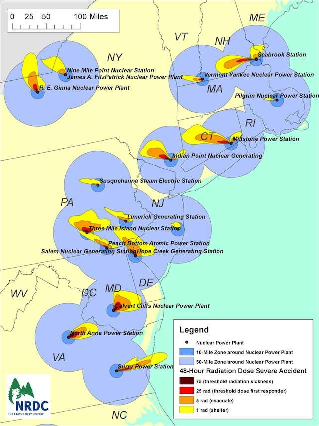 Nuclear Fallout Map Arrives At The Anniversary Of Fukushima ...