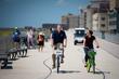 Photos: Mayor De Blasio Rides A Bike