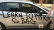 Queens Man Has A Can Of Spray Paint & Strong Feelings About Your Parking Job