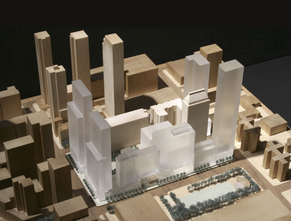 the proposed expansion of Fordham University's Lincoln Center campus,
