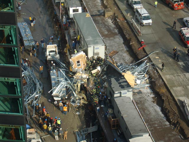 Crane collapse seriously hurts Rob Woo