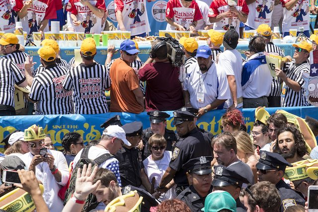 WATCH Nathan's Hot Dog Contest LIVE STREAM