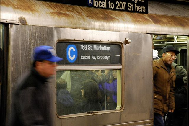 Man stabbed multiple times on C train during attempted robbery