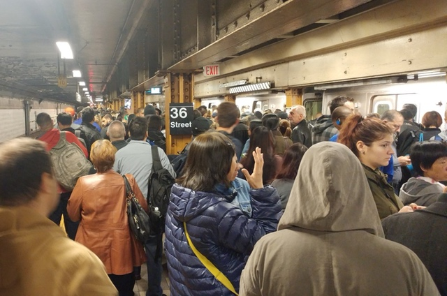 Plan unveiled for improvements to NYC's subway system