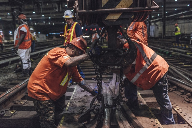 See all the work they've done in Penn Station in just 4 minutes (VIDEOS)