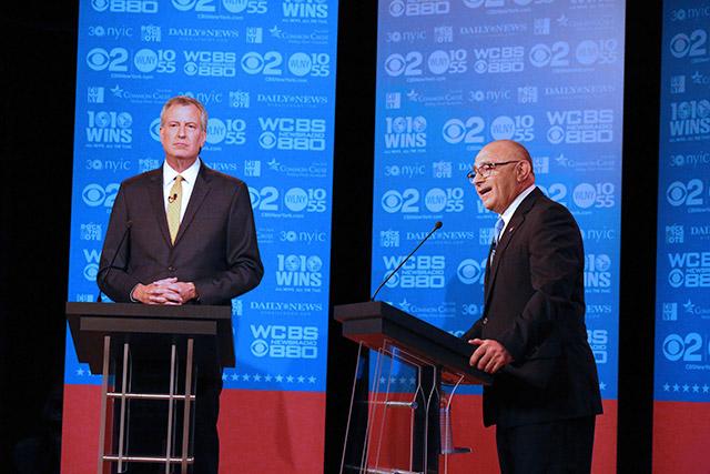 Cuomo Won't Endorse de Blasio in Democratic Primary
