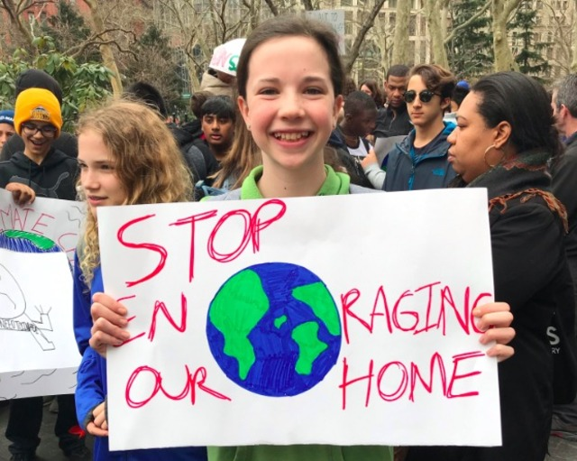 Students drag mayor out of office for climate 'strike'