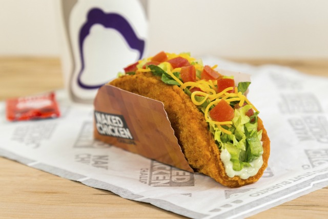 Taco Bell Reveals Naked Chicken Chalupa