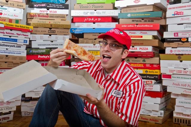 Nem mindenhol unalmas a pizzásdoboz