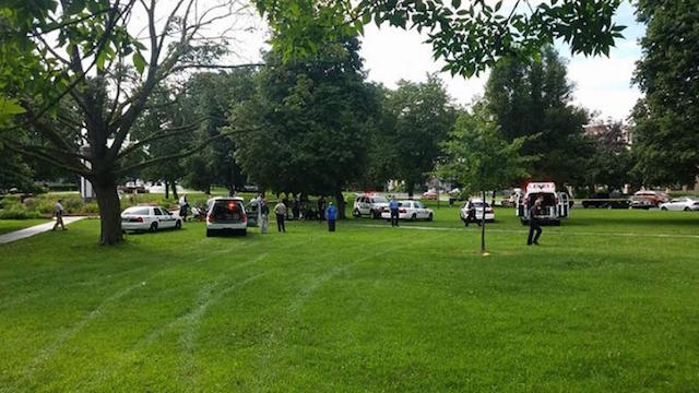 1 dead in Poughkeepsie lightning strike at park