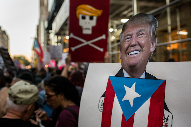 Puerto Ricans to Trump: Don't Focus on Debt, We Need Water