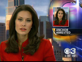 Alycia Lane, the anchorwoman from the CBS owned station KYW in Philadelphia ...