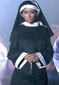 Christina Aguilera Nun Costume