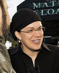 Larry Wachowski at Cannes