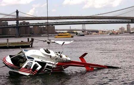 East River HELICOPTER CRASH: Gothamist
