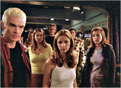 cast of Buffy, The Vampire Slayer